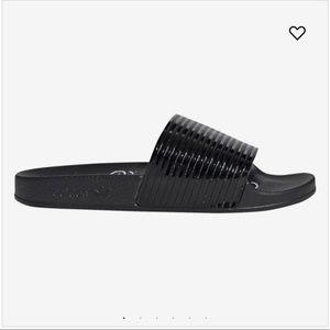 Adidas adilette slides -black